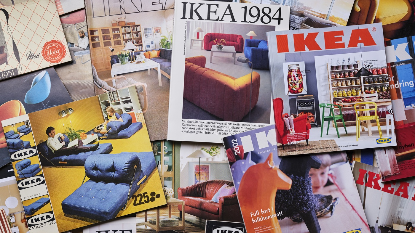 IKEA Discontinues Its Catalog After 70 Years – NPR