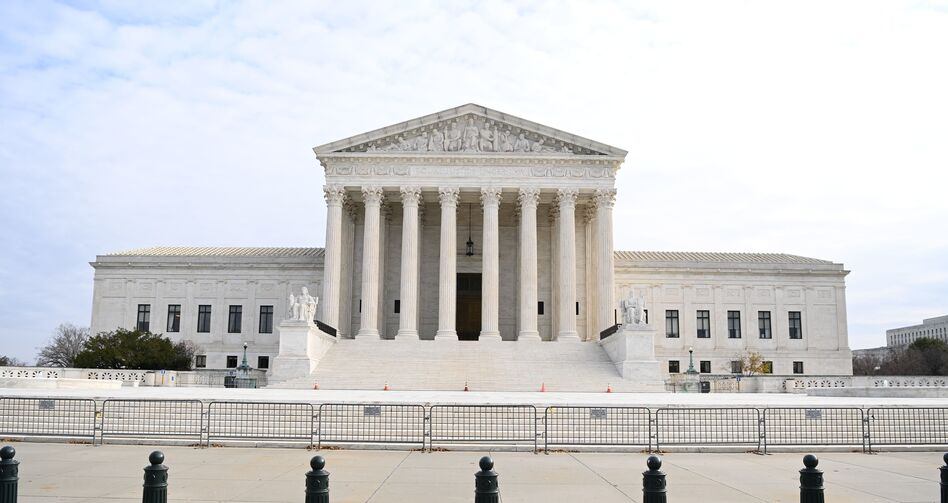 The U.S. Supreme Court has turned back an effort to reject Pennsylvania's election results. (Mandel Ngan/AFP via Getty Images)