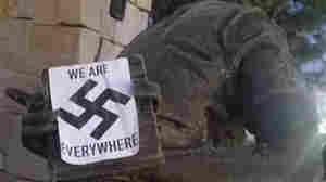 Idaho Anne Frank Memorial Defaced With Nazi Propaganda