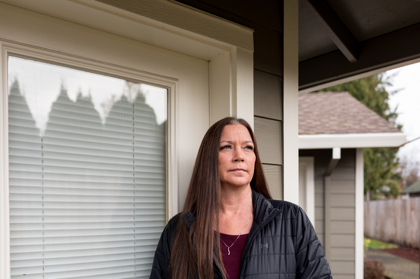 """Kimberly Conger, the nurse manager for McSweeney's group home, objected when a doctor said the disabled woman needed to be on a ventilator but then questioned her quality of life: """"I feel like they didn't feel like she was worth that."""""""