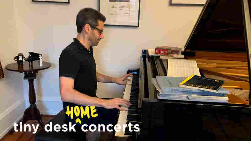 Jonathan Biss: Tiny Desk (Home) Concert