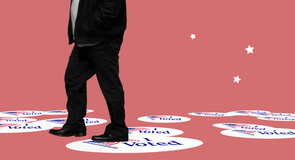A poll of nonvoters shows there is little that would encourage them to vote — even campaigns haven't heavily invested in motivating this group. (Caroline Amenabar/NPR; Eric Ray/Flickr)