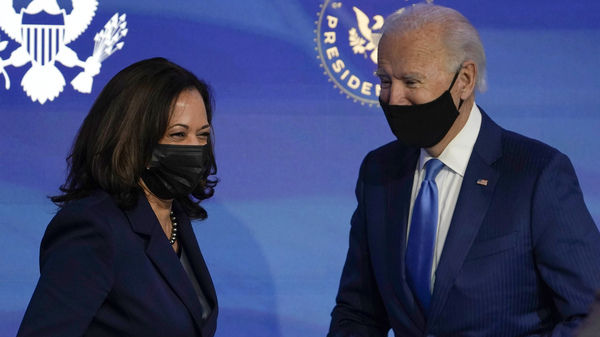 Vice President-elect Kamala Harris and President-elect Joe Biden formally were elected on Monday by the Electoral College, which executes the will expressed by votes cast last month.