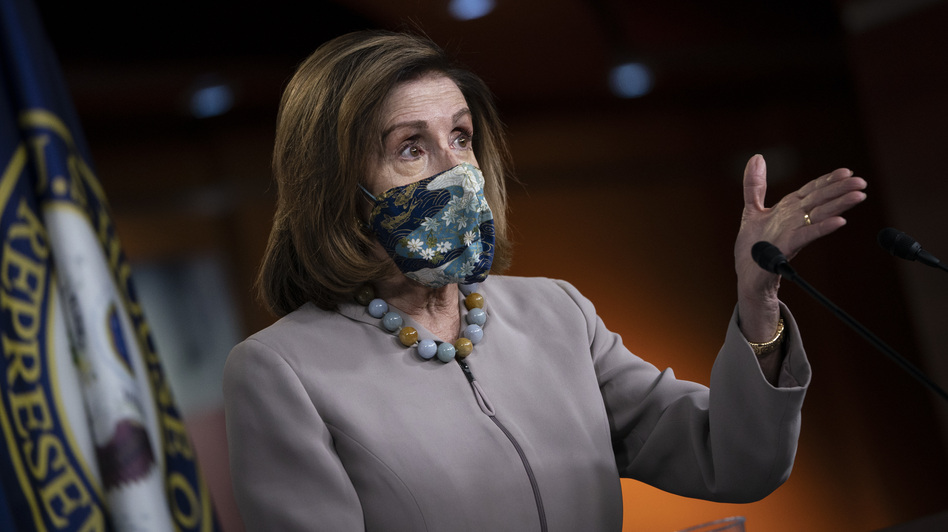 House Speaker Nancy Pelosi and Senate Majority Leader McConnell have traded vastly different proposals over the past several months but had not been directly engaged in talks. (Drew Angerer/Getty Images)