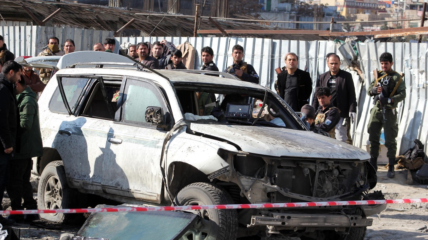 Kabul's Deputy Governor Killed In Bomb Blast - NPR