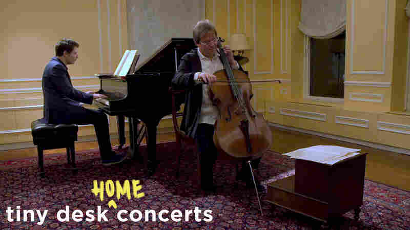 Celebrate Beethoven's Birthday With A Tiny Desk By Jan Vogler And Alessio Bax