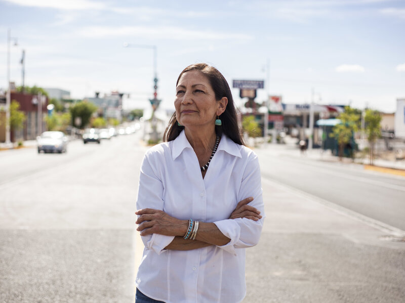In Historic Move, Biden To Pick Native American Rep. Haaland As Interior Secretary
