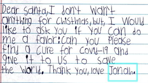 'Could You Help Santa?' In Christmas Wish Lists, Children Write Of Pandemic Hardships