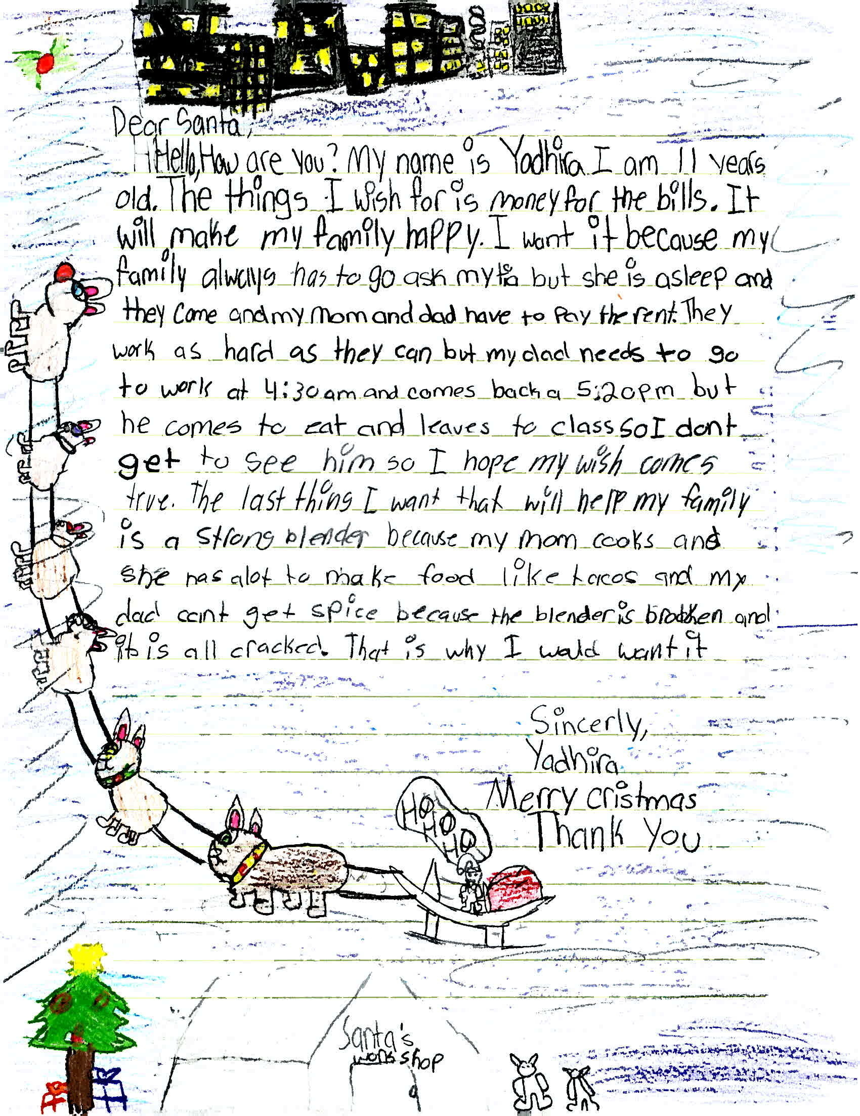 Christmas Assistance 2021 In Christmas Wish Lists Children Write Of Pandemic Hardships Npr
