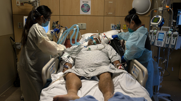 Hospitalizations and deaths from the coronavirus continue to increase this month, with the number of Americans who died from the illness surpassing 3,600.