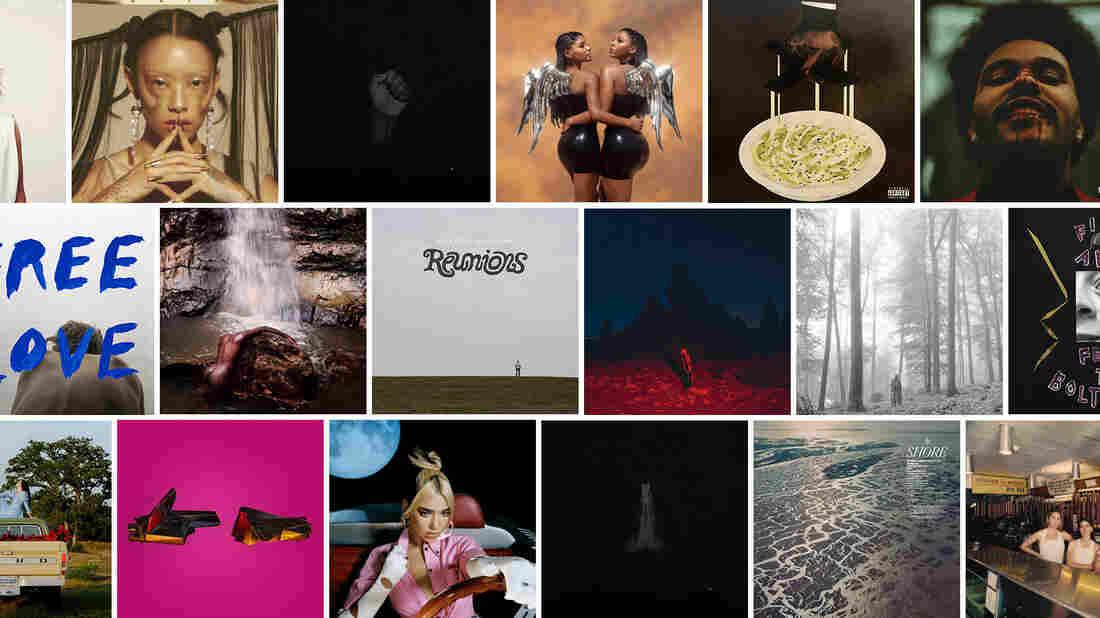 NPR listeners' favorite albums of 2020.