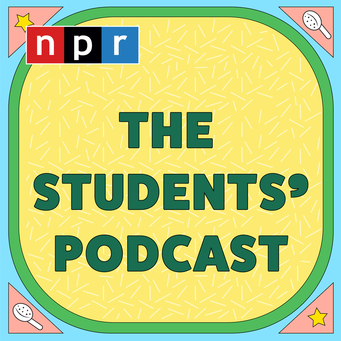 The Students' Podcast logo