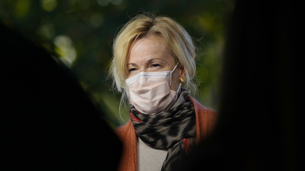 """White House Coronavirus Response Coordinator Dr. Deborah Birx on Tuesday described her experience leading the task force as """"overwhelming,"""" suggesting her family have unfairly been targeted in the attacks against her."""
