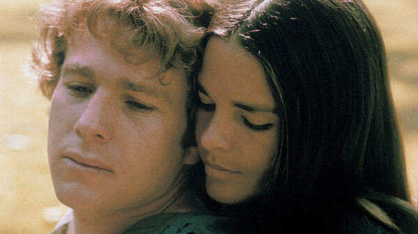 Ryan O'Neal and Ali MacGraw starred in Love Story — a romantic tearjerker that became the highest grossing movie of 1970. Since then, it has inspired countless ugly cries — and plenty of parodies, too.