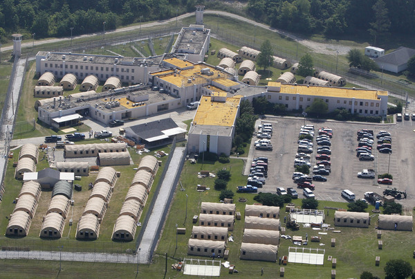 The Louisiana State Penitentiary at Angola, La., is seen here in 2011.