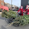 In Baltimore, These Santa Clauses Bring Pork And Christmas Trees To Your Door