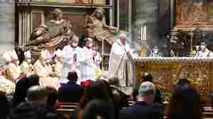 At The Vatican, A Christmas Eve Mass Shaped By The Pandemic