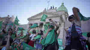 Argentina Legalizes Abortion In Historic Senate Vote
