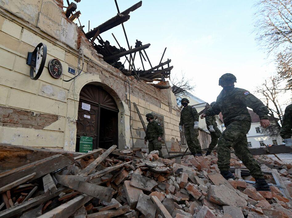 6 4 Magnitude Earthquake Hits Croatia Killing At Least 6 Capradio Org
