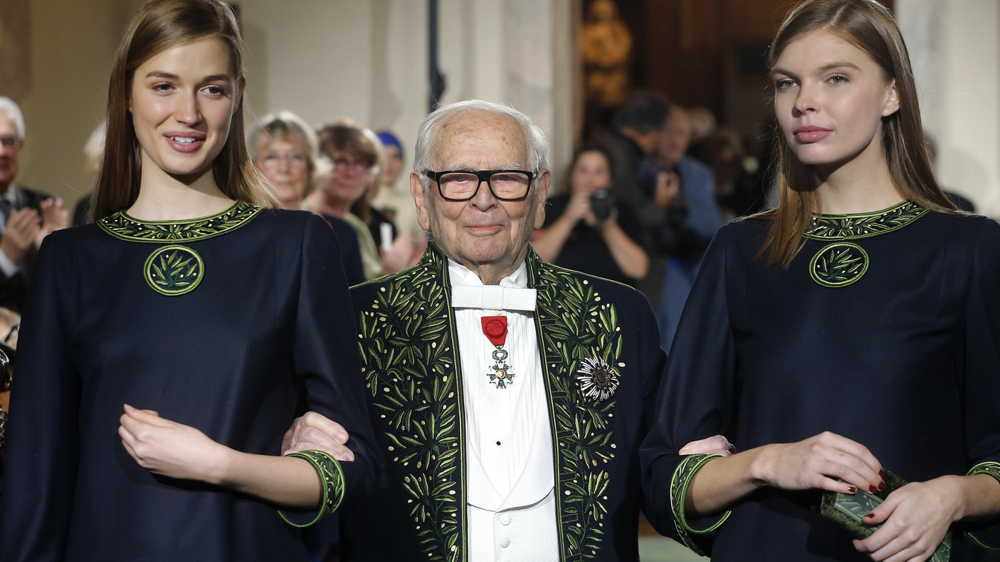 Pierre Cardin: French Fashion Designer Dies At 98 – NPR