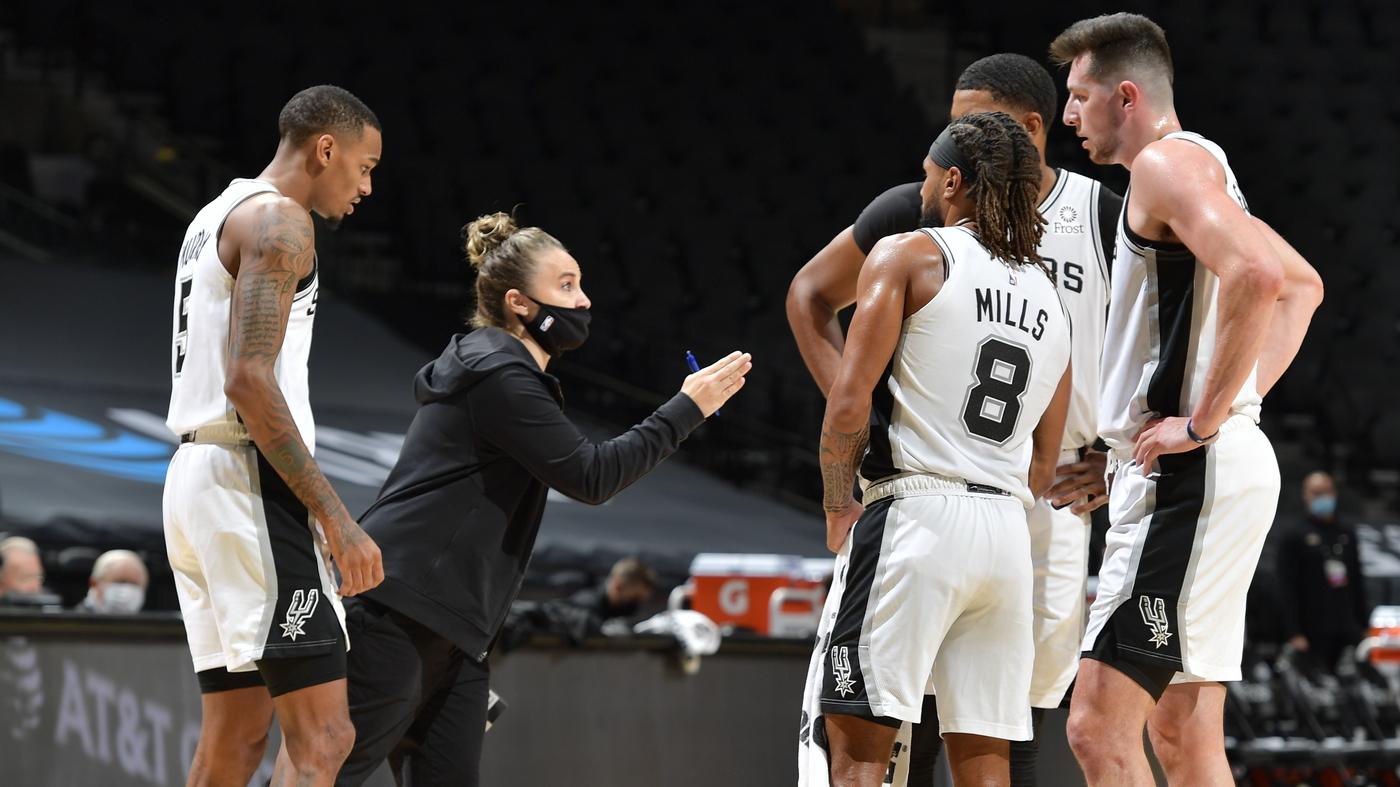 Spurs' Becky Hammon Becomes First Woman To Coach An NBA Team – NPR