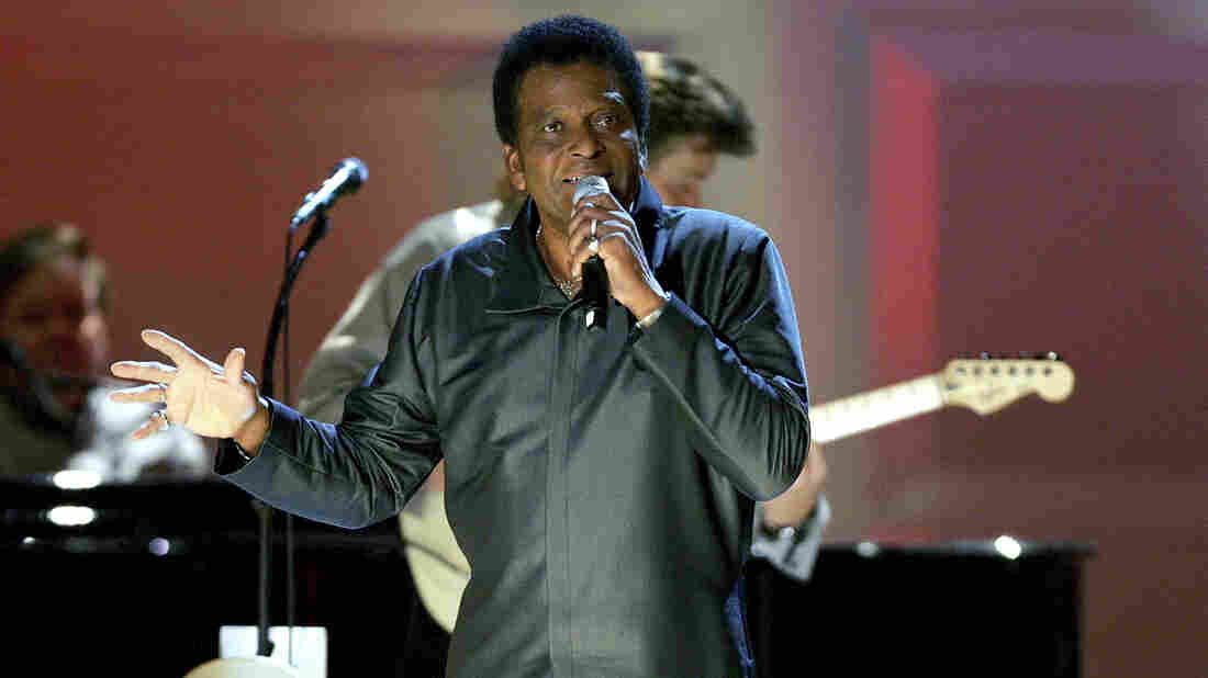 Charley Pride performs during a taping of the Grand Ole Opry at Carnegie Hall in 2005 in New York City.