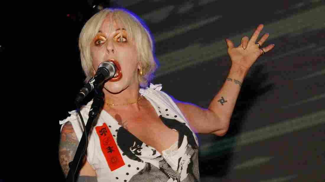 Genesis Breyer P-Orridge of Psychic TV performs at the Astoria in 2006 in London.