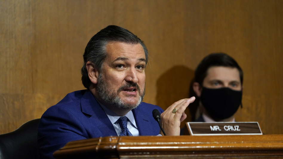 Republican Sen. Ted Cruz of Texas is among those promising to challenge the Jan. 6 vote to certify the Electoral College results. (Susan Walsh/AP)