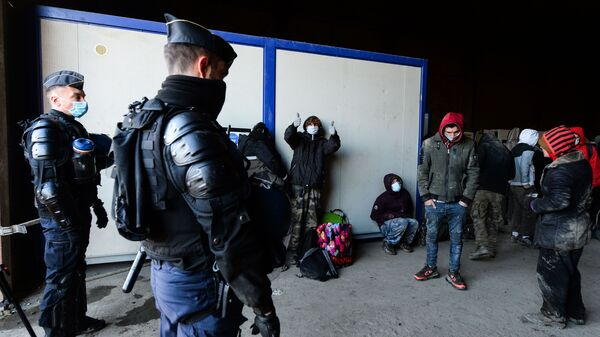 Police break up a rave in Lieuron in northwestern France. Some 2,500 partygoers attended an illegal New Year rave, violently clashing with police who failed to stop it and sparking concern the underground event could spread the coronavirus.