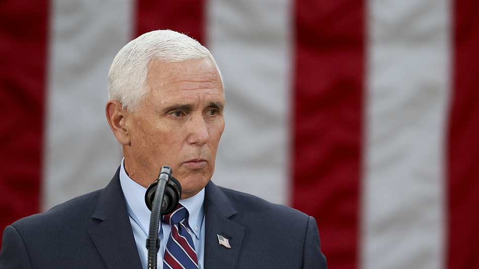 The Constitution created a role at the end of the presidential election process for vice presidents, and it has been an uncomfortable one on numerous occasions. That's likely to be the case for Vice President Pence on Wednesday as well. (Tasos Katopodis/Getty Images)