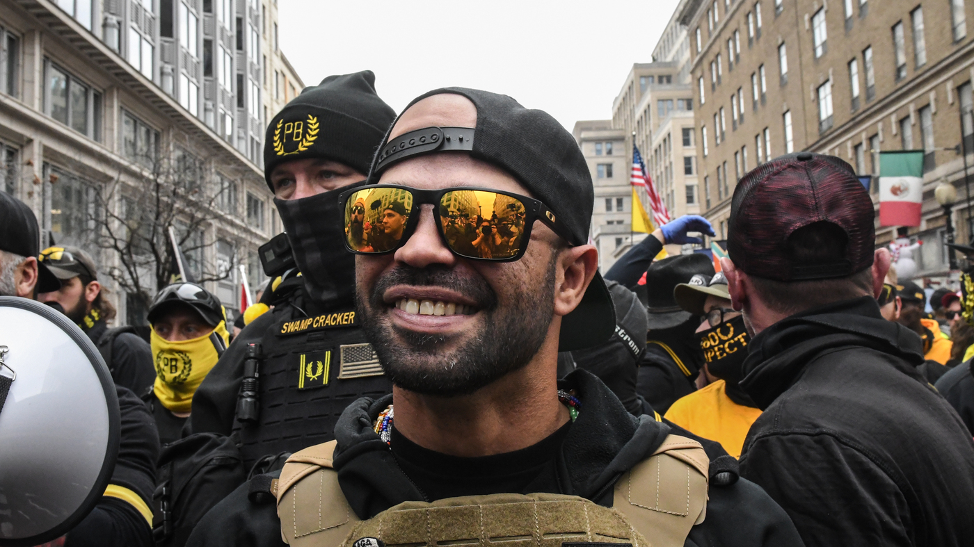 Proud Boys Leader Released From Police Custody And Ordered To Leave D.C. – NPR