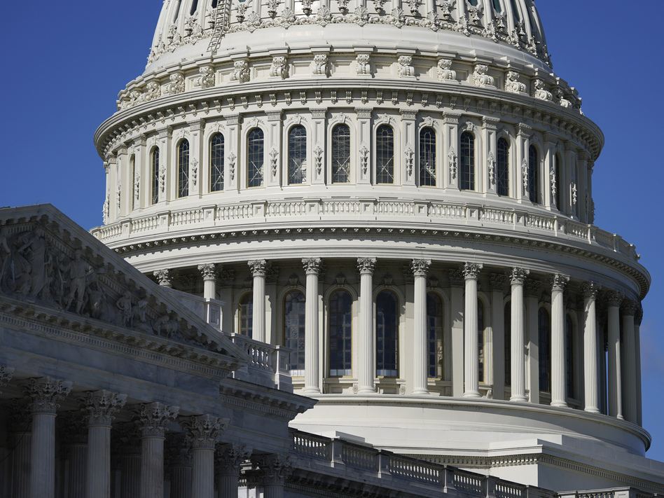 Democrats will have a narrow control of the U.S. Senate. The chamber will be split 50-50, with Vice President-elect Kamala Harris having a tiebreaking vote. (Patrick Semansky/AP)