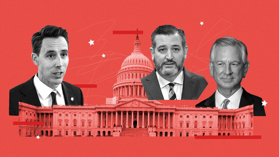 Republicans who maintained objections