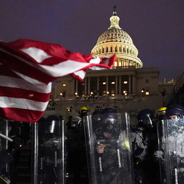 PHOTOS: Mayhem Erupts In D.C. As Pro-Trump Extremists Storm U.S. Capitol