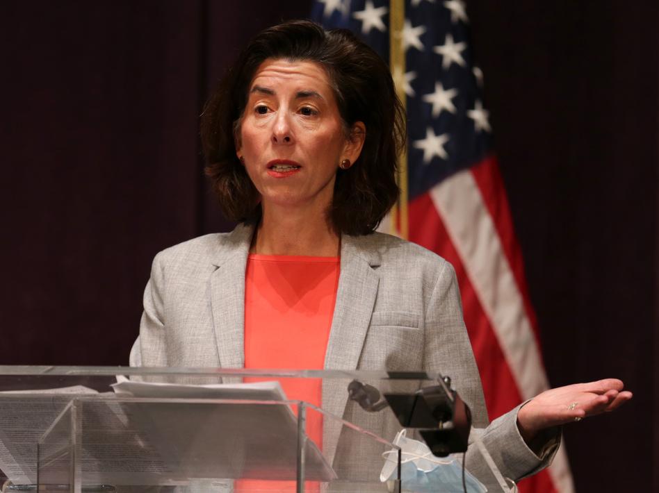 Bidens Choice For Commerce Secretary Gina Raimondo Has