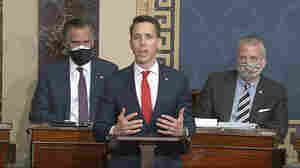 GOP Leaders Condemn Sen. Josh Hawley After Pro-Trump Riot At U.S. Capitol