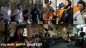 Tiny Desk Meets globalFEST: Dedicated Men Of Zion, Labess, Sofia Rei & DakhaBrakha