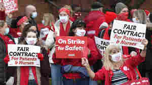 For Health Care Workers, The Pandemic Is Fueling Renewed Interest In Unions