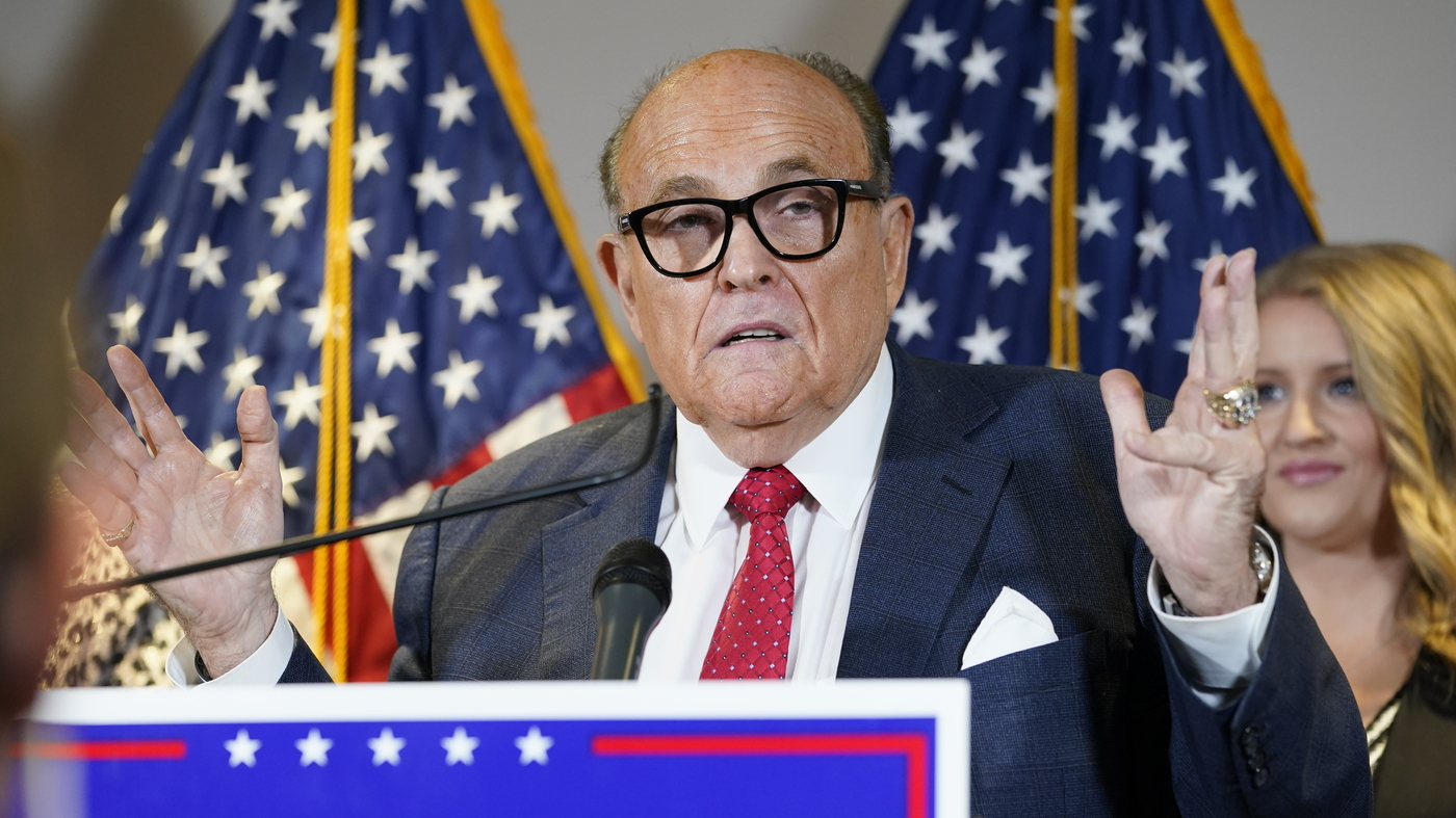 New York State Bar Association Considers Expelling Rudy Giuliani – NPR