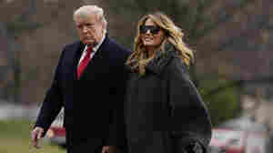 Ignoring Husband's Role, Melania Trump Decries Violence, 'Salacious Gossip' About Her