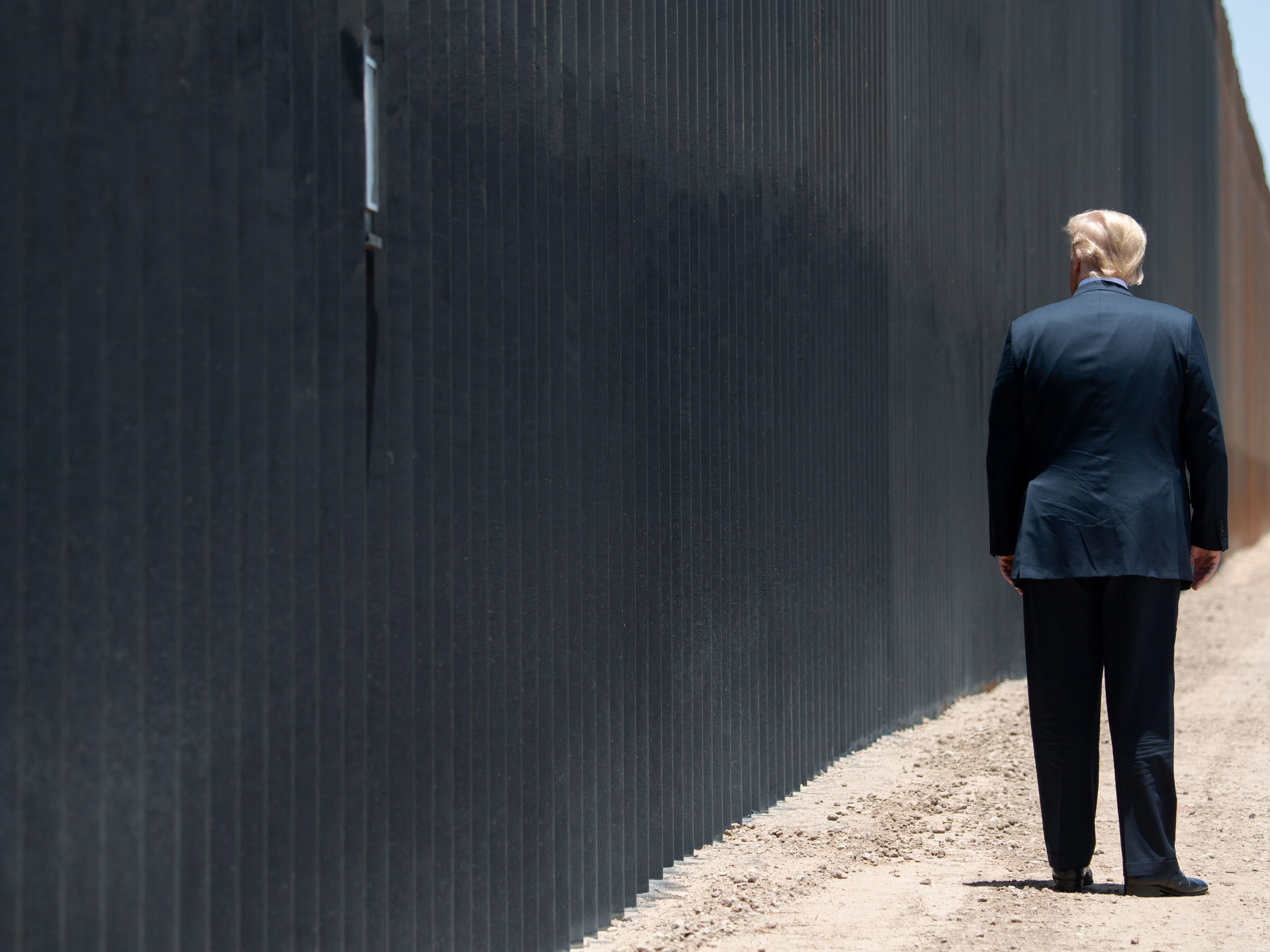 Donald Trump heads to Texas border in final days to showcase wall