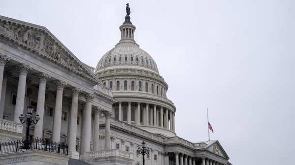 Members of the Capitol Police are under investigation for their actions as rioters attacked the U.S. Capitol building on Wednesday. Two officers have been suspended.