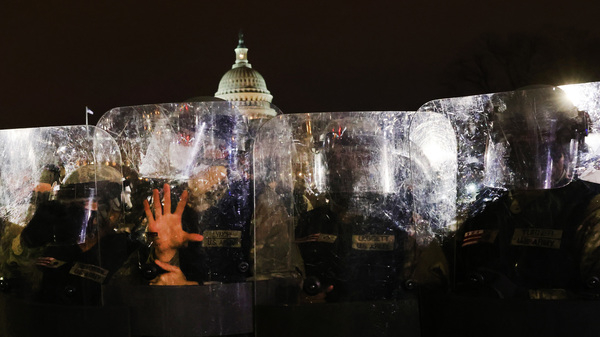 Capitol Police Chief Steven Sund resigned after thousands of supporters of President Trump stormed the U.S. Capitol building on Wednesday. Sund says his requests to superiors to get the National Guard to respond to the riot at the Capitol were rebuffed.