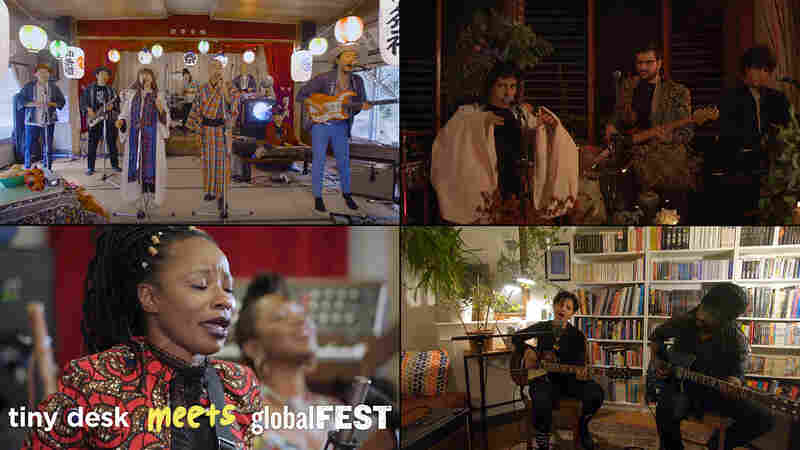 Tiny Desk Meets globalFEST: Minyo Crusaders, Hit La Rosa, Natu Camara, Emel