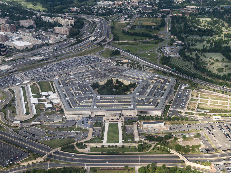 Top Defense Department officials have issued a message to the troops that they must defend the Constitution and that last week's violence at the U.S. Capitol was a direct assault on it. (Bill Clark/CQ-Roll Call Inc. via Getty Images)