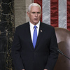 House approved the 25th Amendment resolution against Trump.Pence said he would not make a claim.