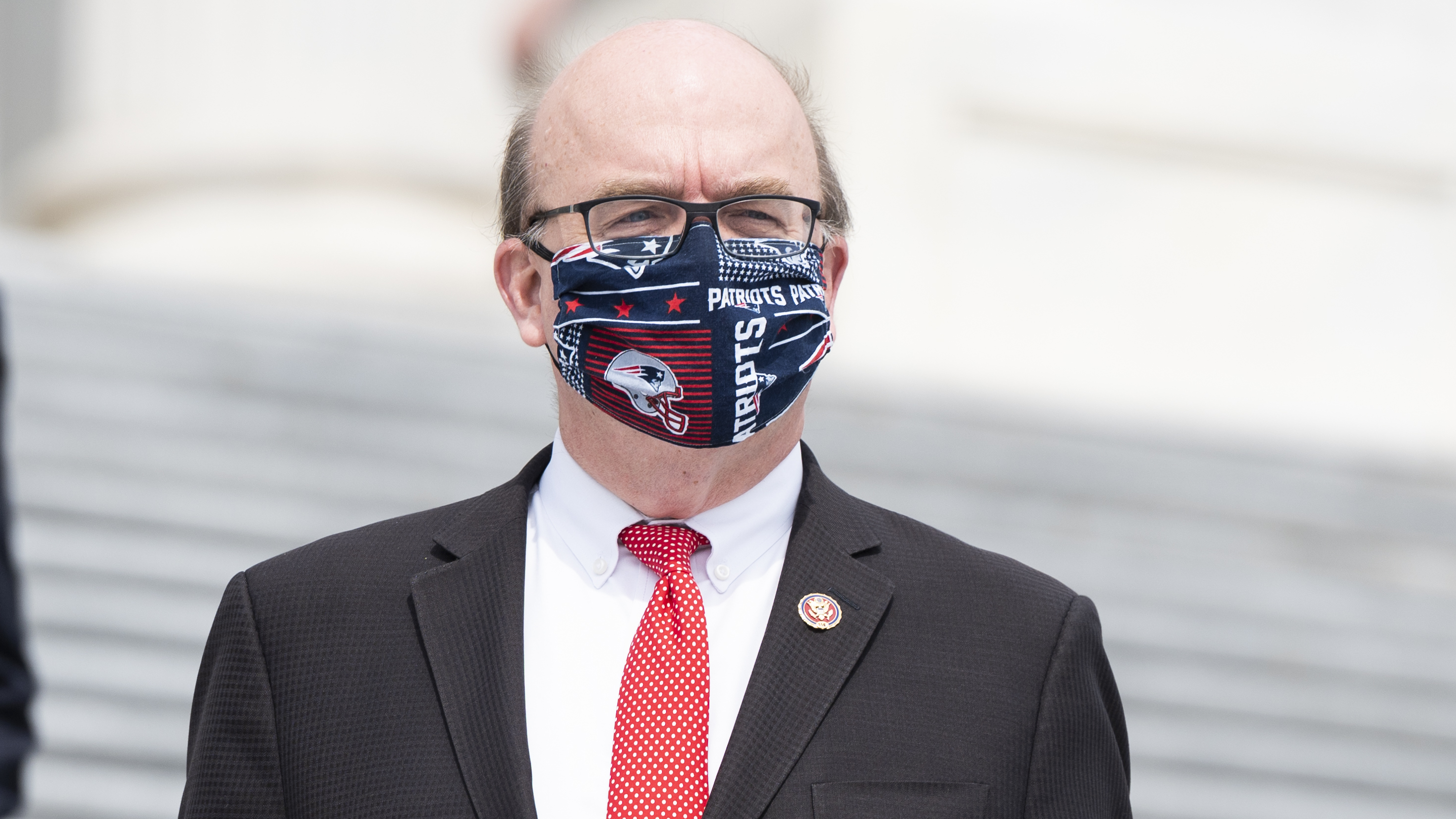 """""""This was a well-organized attack on our country that was incited by Donald Trump,"""" Rep. Jim McGovern, D-Mass., said as he opened debate on a resolution to impeach the president."""