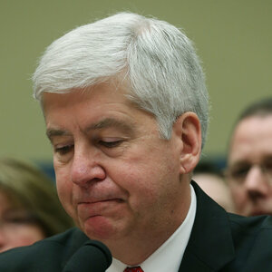 Ex-Michigan Gov. Rick Snyder And 8 Others Criminally Charged In Flint Water Crisis Gettyimages-516130746_sq-b369995559c686163487ffffb7545c88551da600-s300-c85