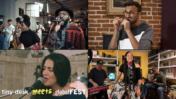 Tiny Desk Meets globalFEST: Vox Sambou, Aditya Prakash, Martha Redbone And More