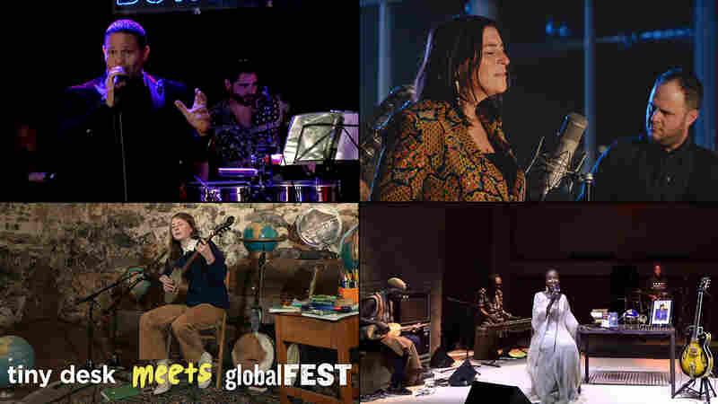 Tiny Desk Meets globalFEST: Edwin Perez, Elisapie, Nora Brown, Rokia Traoré